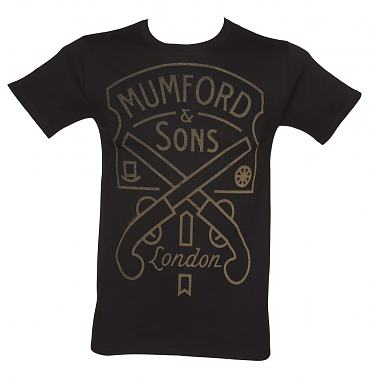 Men's Mumford & Sons Pistol Label T-Shirt