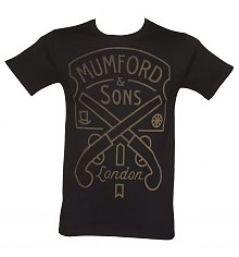 Men's Mumford & Sons Pistol Label T-Shirt [View details]