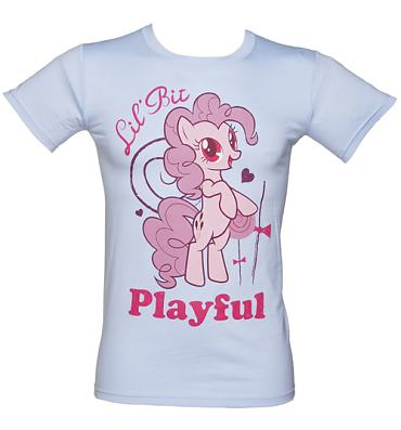 Men's My Little Pony Friendship is Magic Pinkie Pie Playful T-Shirt