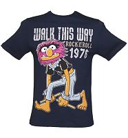 Men's Navy Animal Walk This Way Muppets T-Shirt