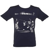 Men's Navy Beatles Revolver T-Shirt from Worn By