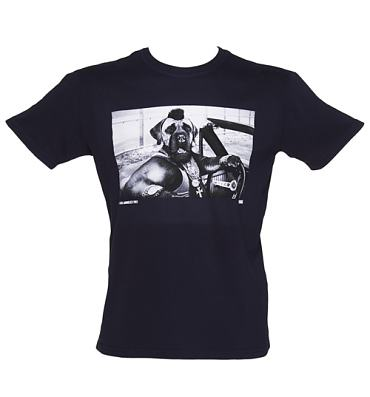 Men's Navy Mr D T-Shirt from Chunk