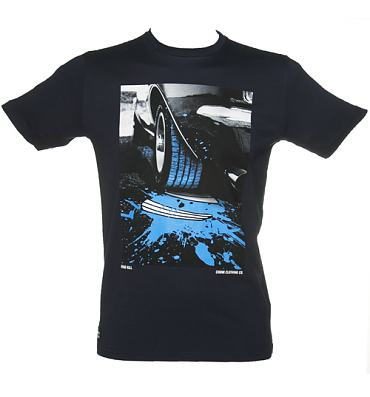 Men's Navy Road Kill Bump T-Shirt from Chunk