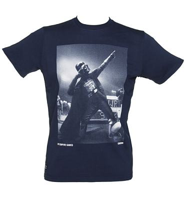 Men's Navy Star Wars Darth Vader Victory T-Shirt from Chunk