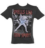 Men's Nirvana Smells Like Teen Spirit T-Shirt from Amplified Ikons