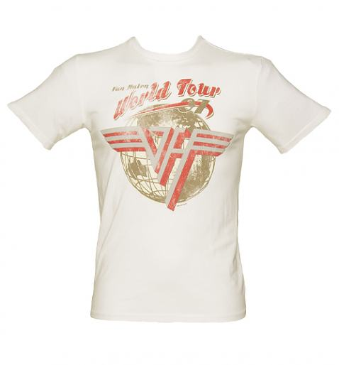 Off White Van Halen World Tour T-Shirt from Chaser LA
