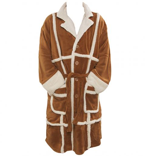 Only Fools and Horses Del Boy Parker Fleece Dressing Gown