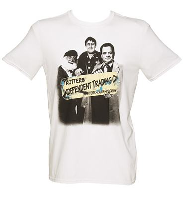 Men's Only Fools and Horses Group Sign T-Shirt from Sticks and Stones
