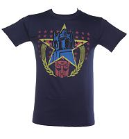 Men's Transformers Optimus Prime Stars T-Shirt