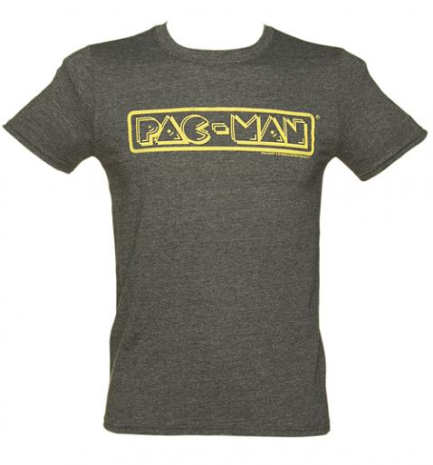 Men's Pac-Man Logo T-Shirt