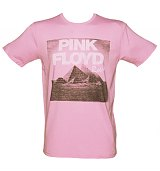 Men's Pink Pink Floyd T-Shirt from Junk Food