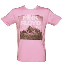 Men's Pink Pink Floyd T-Shirt from Junk Food [View details]