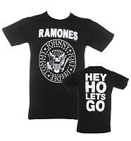 Men's Ramones Hey Ho Front & Back T-Shirt