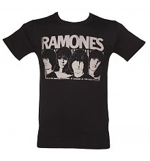 Men's Ramones Odeon Poster T-Shirt [View details]