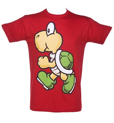 Men's Red Nintendo Koopa T-Shirt
