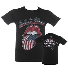 Men's Rolling Stones Tour Of USA T-Shirt [View details]
