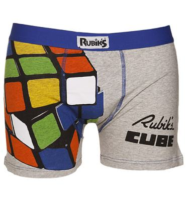 Men's Rubik's Cube Boxer Shorts