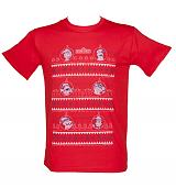 Men's Sesame Street Christmas Jumper T-Shirt