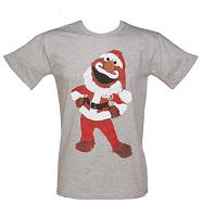 Men's Sesame Street Santa Elmo T-Shirt