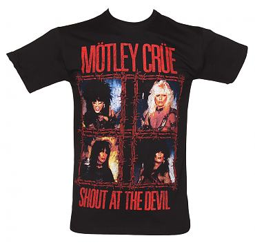 Men's Shout At The Devil Motley Crue T-Shirt