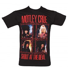 Men's Shout At The Devil Motley Crue T-Shirt [View details]