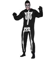 Men's Skeleton Fancy Dress Costume