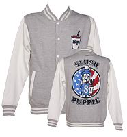 Men's Slush Puppie US Flag Varsity Jacket