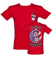 Men's Slush Puppie US Flag Varsity T-Shirt