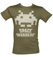 Men's Space Invaders Logo T-Shirt