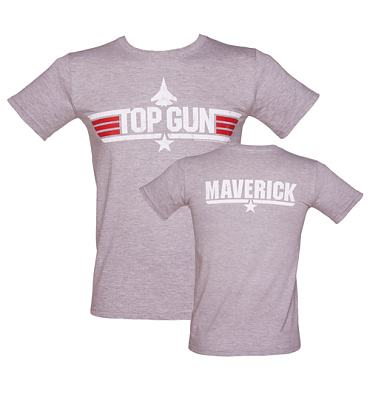 Men's Sport Grey Top Gun Maverick T-Shirt
