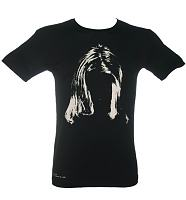 Men's Steve Gullick Kurt Cobain Hair Print T-Shirt from Worn By