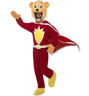 Men's Superted Fancy Dress Costume