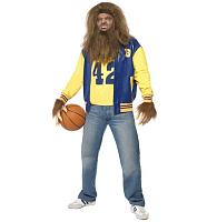 Men's Teen Wolf Fancy Dress Costume