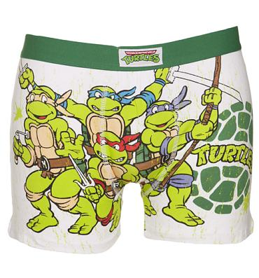 Men's Teenage Mutant Ninja Turtles Group Boxer Shorts