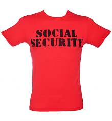 Men's The Clash Social Security T-Shirt from Worn By [View details]