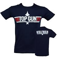 Men's Top Gun Wolfman T-Shirt