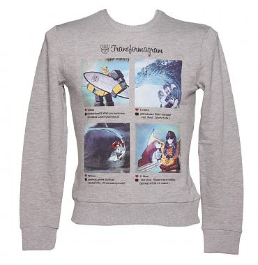 Men's Transformers Instagram Summer Sweater