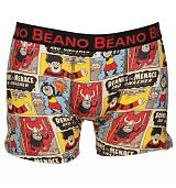 Men's Vintage Beano Comic Strip Boxer Shorts