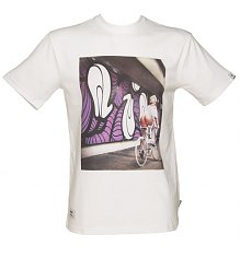 Men's White Addict X Insa Emily Girls On Bikes T-Shirt from Addict [View details]