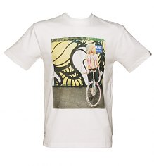 Men's White Addict X Insa Layla Girls On Bikes T-Shirt from Addict [View details]