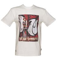 Men's White Addict X INSA Vicky Girls On Bikes T-Shirt from Addict