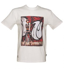 Men's White Addict X INSA Vicky Girls On Bikes T-Shirt from Addict [View details]