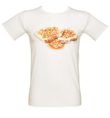 Men's White Beans On Toast T-Shirt
