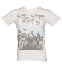Men's White Beastie Boys Costumes T-Shirt [View details]