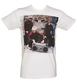 Men's White Beastie Boys Photographic T-Shirt