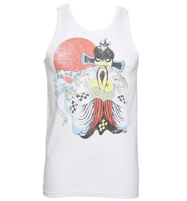 Men's White Big Trouble In Little China Vest