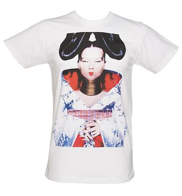 Men's White Bjork Homogenic T-Shirt