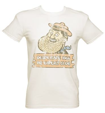Men's Desperate Dan Pie Eaters Club T-Shirt