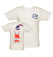 Men's White Don't You Forget About Me T-Shirt from Illustrated Mind [View details]