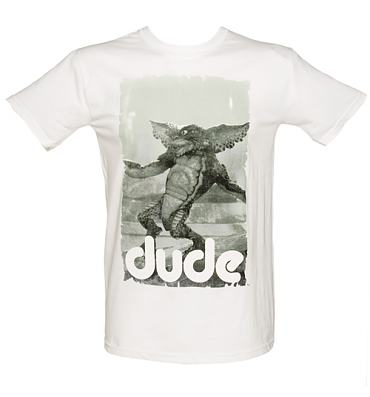 Men's White Dude Gremlins T-Shirt